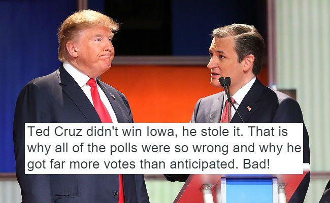 """Trump vs. """"American Democracy"""""""
