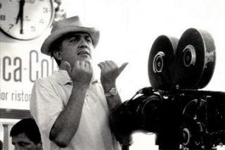 Fellini at work