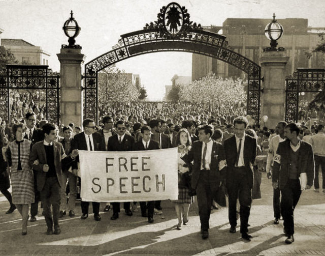 Berkeley, home of the free speech movement, is no longer a free speech zone