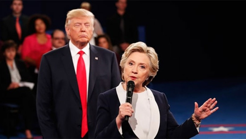 Trump Goes Full Nuke at Grab PussyGate Debate Turning U.S.A into Banana Republic