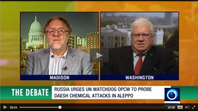 """Press TV's """"The Debate"""""""