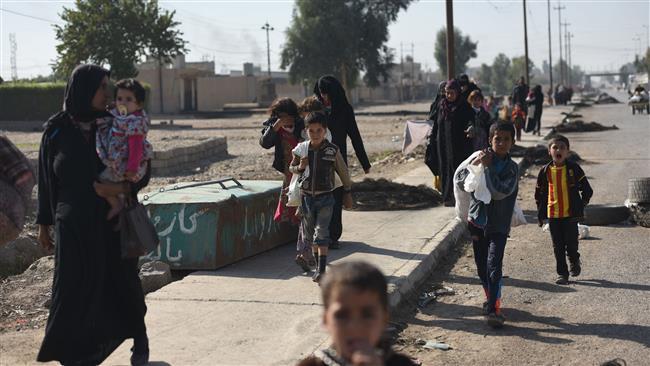 Mosul residents storm Daesh-run jail, free dozens of inmates