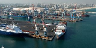 Ashdod Port, terminus of the planned Red-Med
