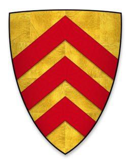 Coat of arms of Richard de Clare
