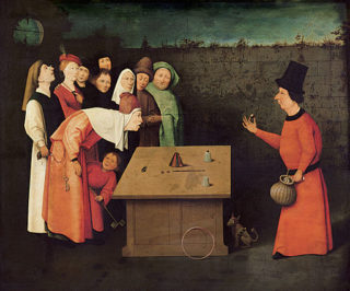 The Conjurer by Hieronymus Bosch, circa 1450–1516 (Photo: Public domain via Wikimedia Commons)