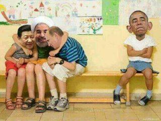 Geopolitics can get childish sometimes