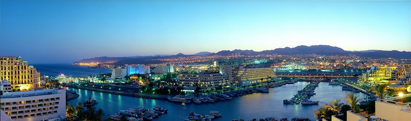 Eilat on the Red Sea