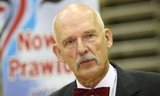 Polish former presidential candidate Janusz Korwin-Mikke