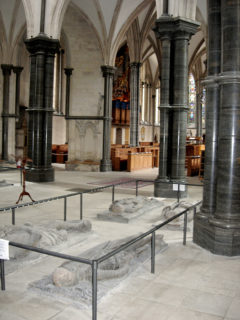 Effigies in London's Temple Church of the Templars