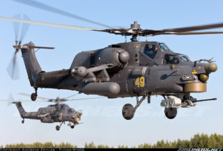 Russian Mi-28NE Night Hunter