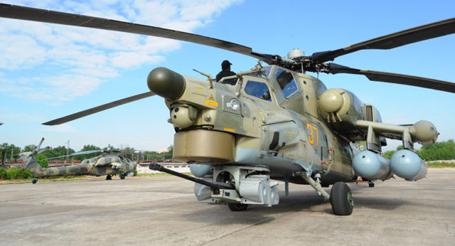Russian _Mi-28UB