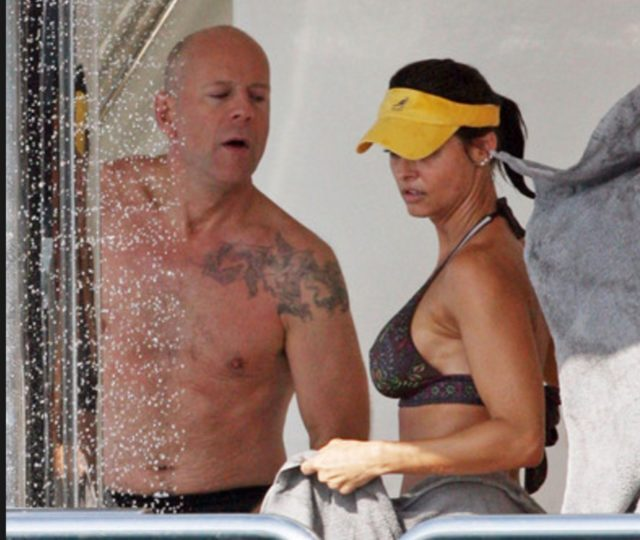 with Bruce Willis