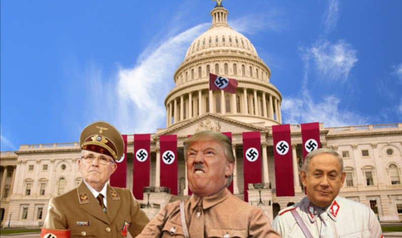 Time to take down the flag as most Americans surrender to a foreign backed coup