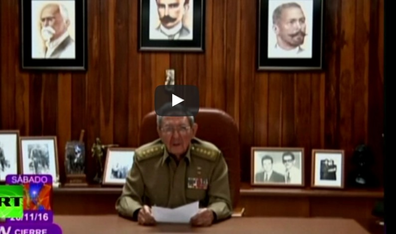Fidel Castro, Cuba's longtime leader, dies at 90