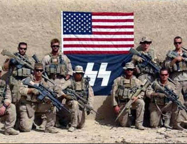 Whichone is the real American flag? Which one do we defend? Which one is Trump talking about?