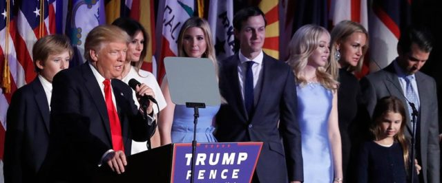 trump-and-family