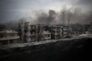 How much of Aleppo will be left when the fighting is over
