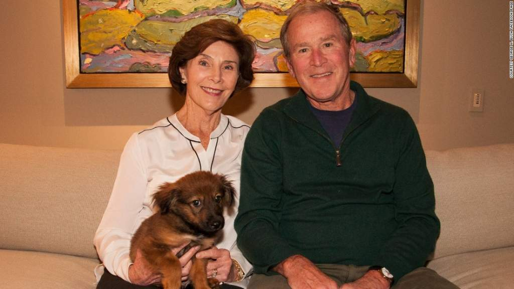 """""""My dog is more important than precious lives in the Middle East and America. Take that, you haters."""""""
