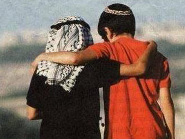 A young Israeli boy and his Palestinian friend realize that their bond of love and friendship supersedes any cultural or religious animosity and hatred.