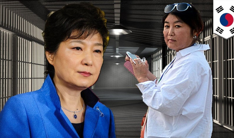 The rise against government corruption in South Korea