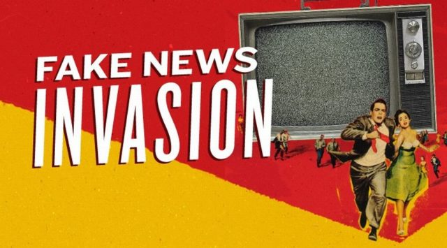 "Is ""fake news"" a problem-reaction-solution technique to ""cognitively infiltrate"" and ""disable"" alternative media?"