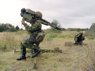 A technical edge in small ground to air missiles can make choppers a turkey shoot