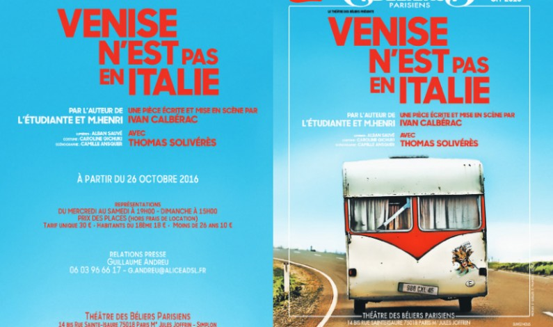Venise n'est pas en Italie – Venice is not in Italy