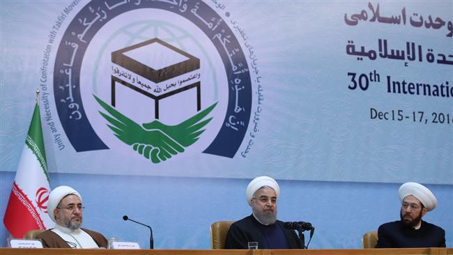 Rouhani urges Muslims to unite against 'great plot'