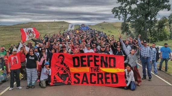 "Veterans Arrive to Stand Against Trump's ""Pipeline of Death,"" Dakota Access"