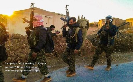"""Deception: Kurdish Press Credits """"Coalition"""" for Attacks on ISIS at Raqqah"""