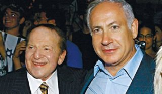 Netanyahu and Adelson will have a finger in the Turmp pie
