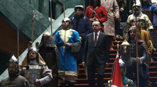 Erdogan has been up to his eyeballs in terror front groups