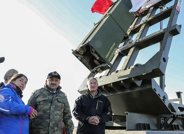 Turkey's domestically developed medium-altitude air defense system passes first test with full success