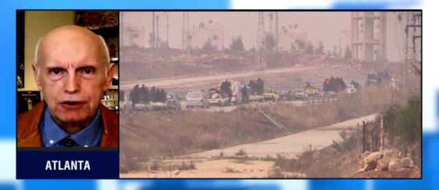Jihadis finally leaving Aleppo...and good riddance