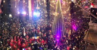 East Aleppo celebrates Christmas for the first time in years