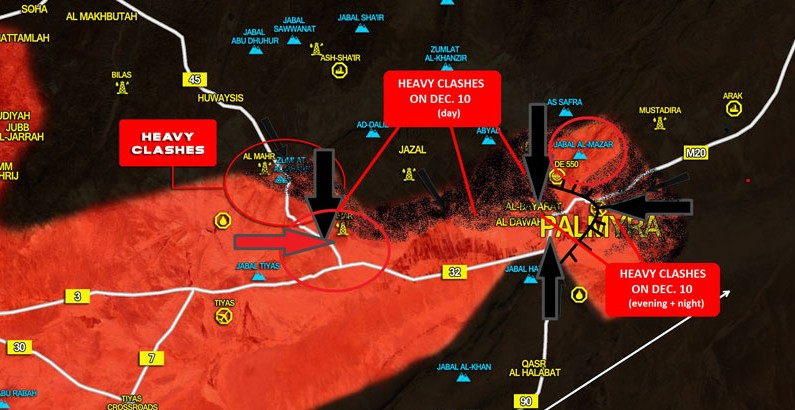 Extremal Situation Near Palmyra (Events & Analysis)