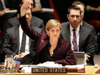 For once I agree with a Samantha Power vote
