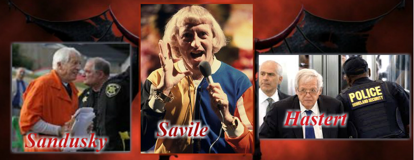 "Sandusky was allegedly ""just the driver"" - Jimmy SaVILE - Denny Hastert ... the revolving door of peds"