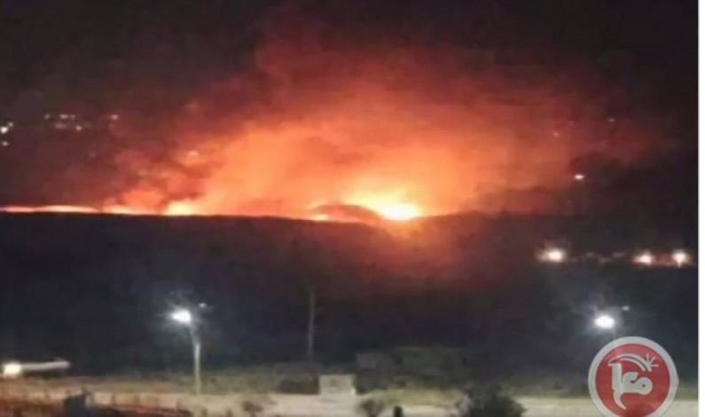 Israeli rockets strike Damascus military air base, Presidential Palace
