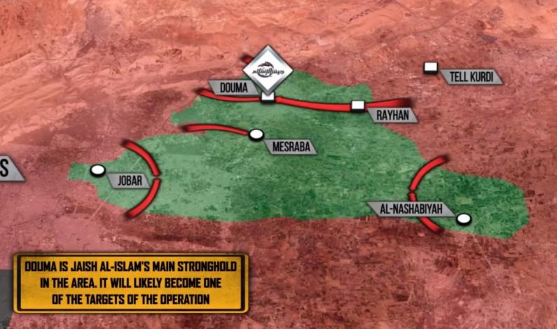 Syrian Govt Forces Prepare To Retake Eastern Ghouta
