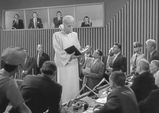 """Remember when """"To serve man"""" turned out to be a cookbook?"""