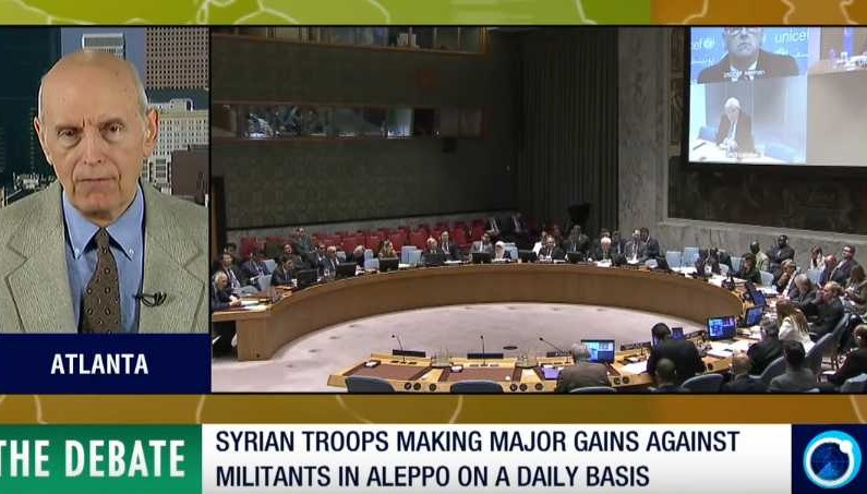 The Debate – UN and West fail to resupply jihadis in Aleppo via ceasefire