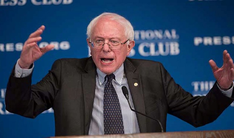 Sanders Questions American Democracy: 'Change Electoral College'