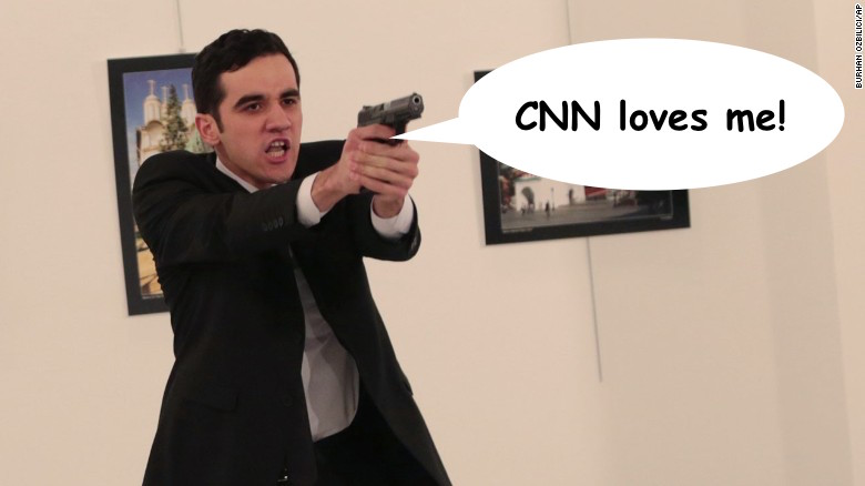 CNN sympathizes with Ankara assassin