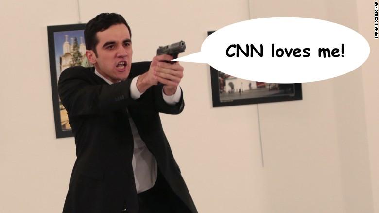 CNN sympathizes with Ankara assassin