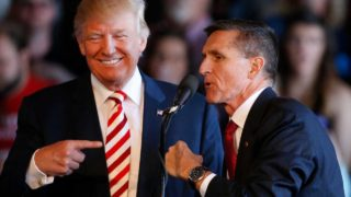 Trump and Flynn