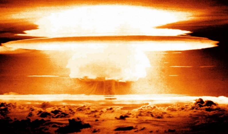 Trump Says He Wants a Nuclear Arms Race