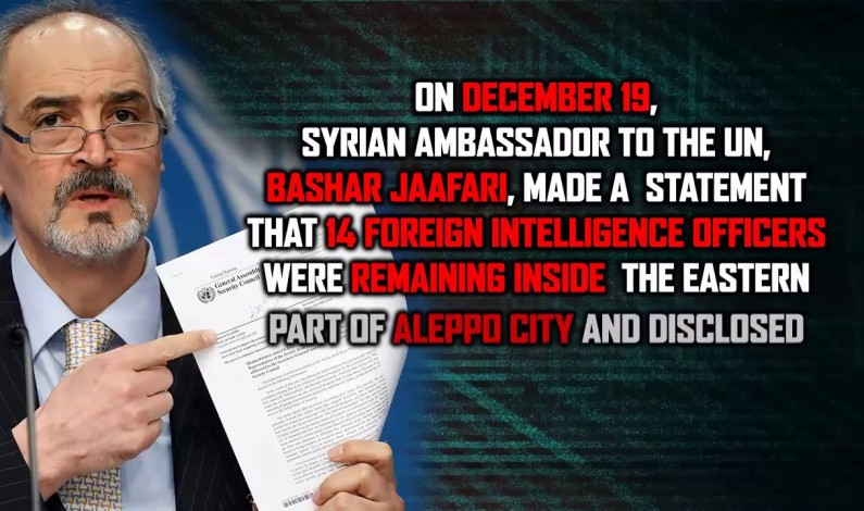 Syria officially reveals data about foreign Intel officers in Aleppo