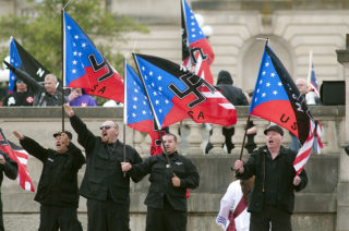 White nationalists, or are they paid actors?