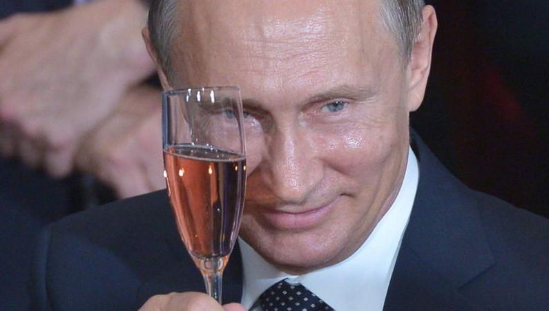 Vladimir Putin is ending 2016 with a bang